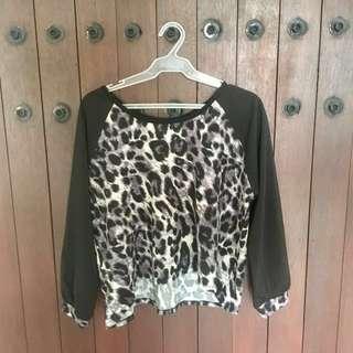[SALE] Leopard Print Top