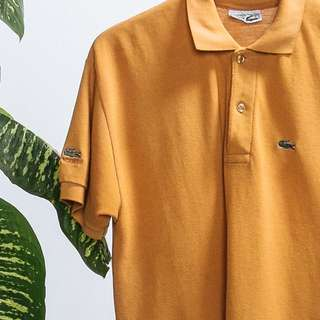 Colonel mustard Lacoste Tee