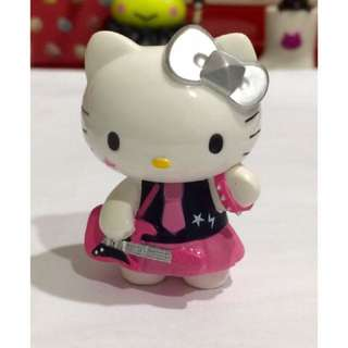 Hello kitty 食玩 盒玩 限定搖滾版