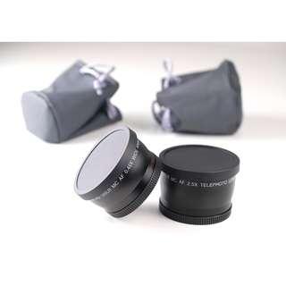 Tele conversion Lens + Wilde Conversion for FUJIFILM X100 series