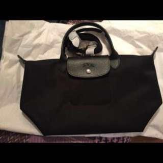 Longchamp small black neo auth