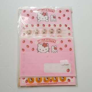 hello kitty 信紙Set b
