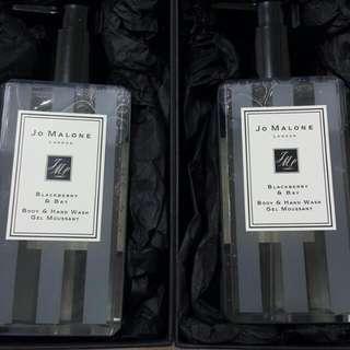 JO MALONE 黑莓子月桂葉沐浴膠250ml