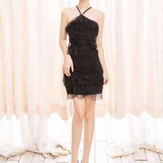 Sophia Black Dress