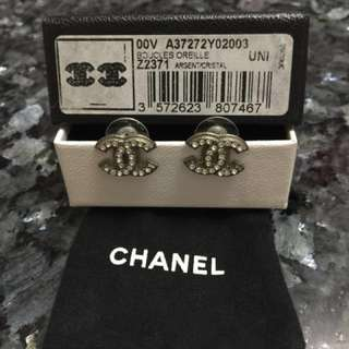 ***RESERVED***. Chanel Preloved Classic Earrings