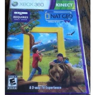 Kinect Nat Geo TV (Xbox 360) NTSC Brand new