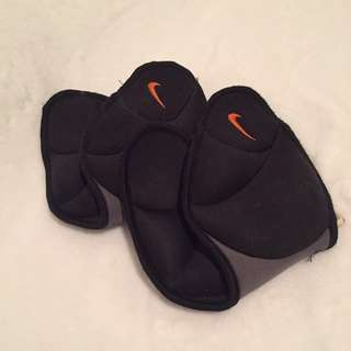 2.5 lb Nike Dri-Fit Black Ankle Weights