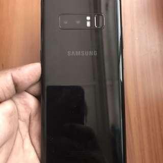 Samsung Note 8 black