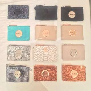 MIMCO MIM Pouches FOR SALE (Prices Vary)