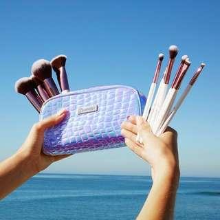 Crystal Quartz Brush Set By Bh Cosmetics
