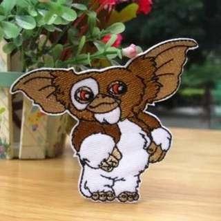 Gremlins魔怪小精靈刺繡熨燙貼布