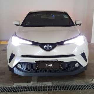 Urgent Toyota C-HR Hybrid 1.8 G for lease.