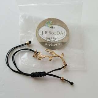 韓國手繩加金屬飾品