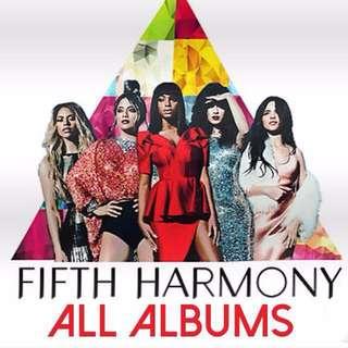 ALL FIFTH HARMONY ALBUMS (CD / Vinyl)