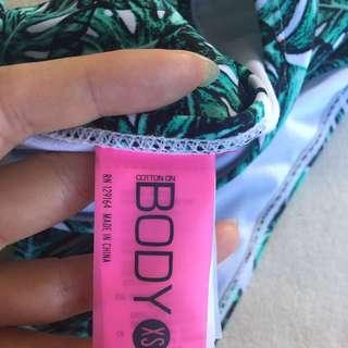 High Wastes Bikini Bottom Size XS