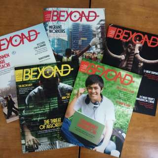 Beyond magazine Sec 2 express