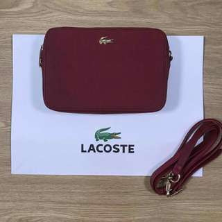 Authentic Lacoste Chantaco Crossbody Small Sling Bag
