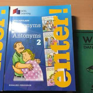 Synonyms and antonyms 2 and 3