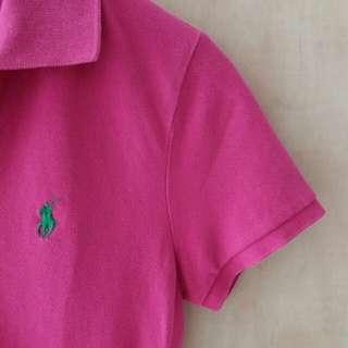 Authentic skinny Polo Fuchsia hue