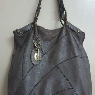 Authentic Fossil Tote Vintage Collection