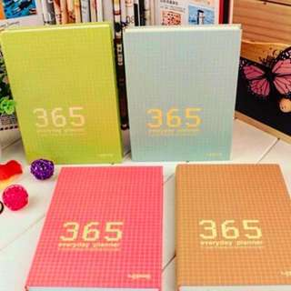 365 colorful planner