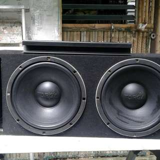 Amplifier complete Setup 2 Speaker/Subwofer