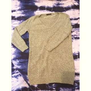 英倫風🇬🇧草綠色長身冷衫(購自英國)