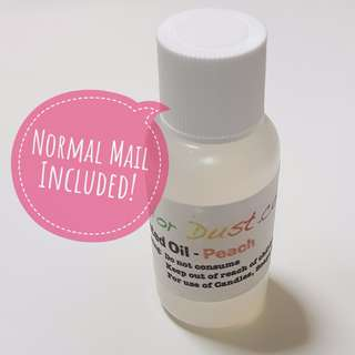 Solar Color Dust Scented Oil: Peach