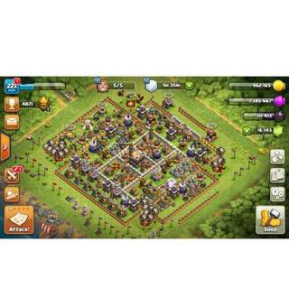 Clash of clans High Level Maxed Th11 Base