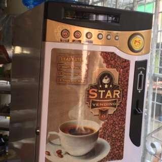 Coffee Vendo with Free CUPS, Powders & Gallon!