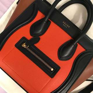 100% Authentic Celine Nano Luggage Bag
