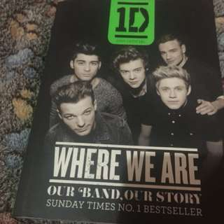 One direction where we are book