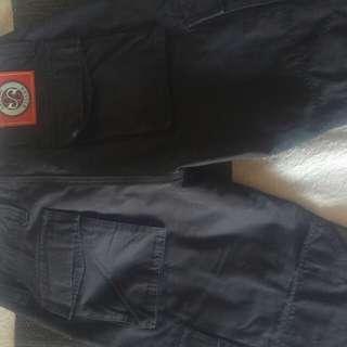 Size 10 ladies/unisex Kevlar cargo pants