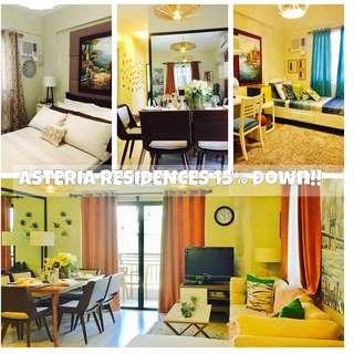 3 bedroom condo in Paranaque 15% spot RFO