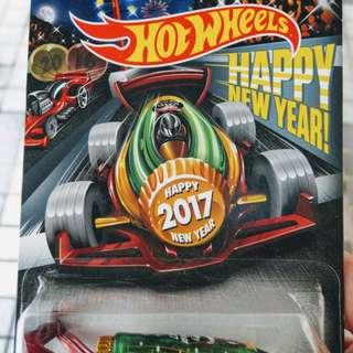美版 hot wheels 2017 happy new year紀念車 carbonator