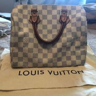 Authentic Louis Vuitton speedy bag