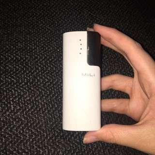 Milo portable charger