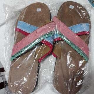 Handmade boho sandal size 38