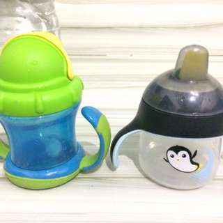 Avent Sippy Cup & Nuby Straw cup