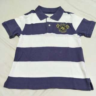 🎉 lativ 男童短袖Polo 衫-120cm