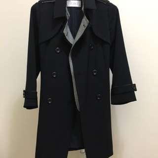 🚚 專櫃假二件式外套