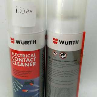 WURTH ELECTRICAL CONTACT CLEANER MADE IN GERMANY 150ML