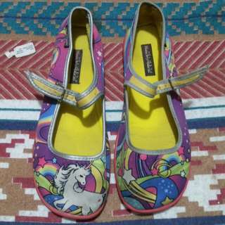 Shoes with Unicorn print
