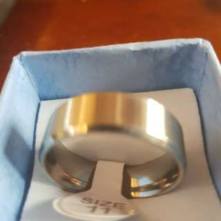 Men's stainless steel rings