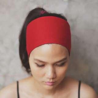 Red Yoga , Fitness Headband