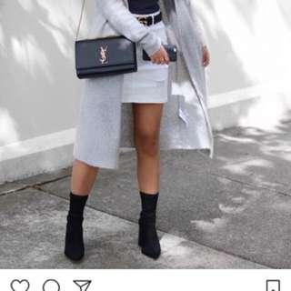 LEE White denim skirt