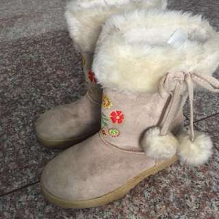 Winter Boots for Girls Size 22 (22 cm)