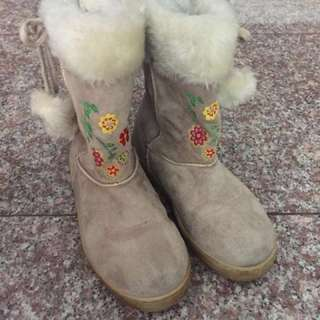 Winter Boots for Girls Size 24 (24 cm)