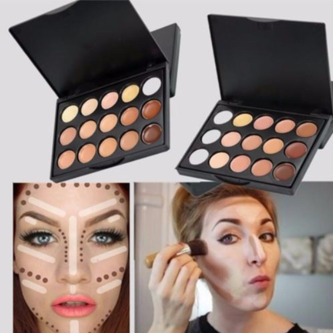 15 Colour Cream Contour Pallette
