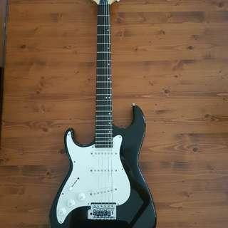 Greg Bennett Left Handed 3/4 Malibu Electric Guitar